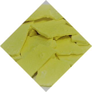 Sulphur biscuit product, produced in Cepsa's chemical plants.